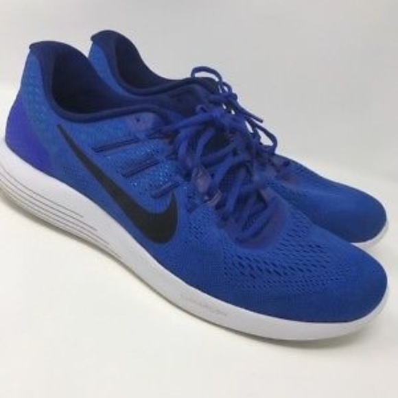 Nike Lunarglide 8 Low Flyknit Basketball shoes 15 b05910721313